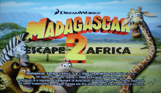 Madagascar 2: Escape 2 Africa - Title