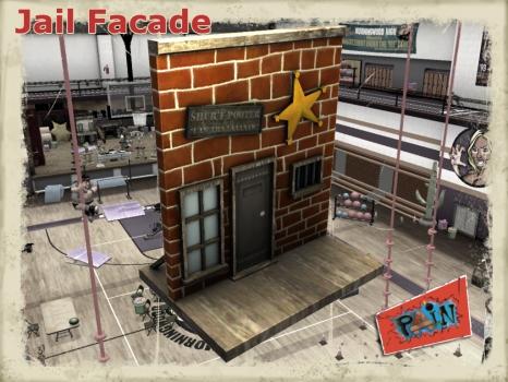 PAIN Gym - Jail Facade