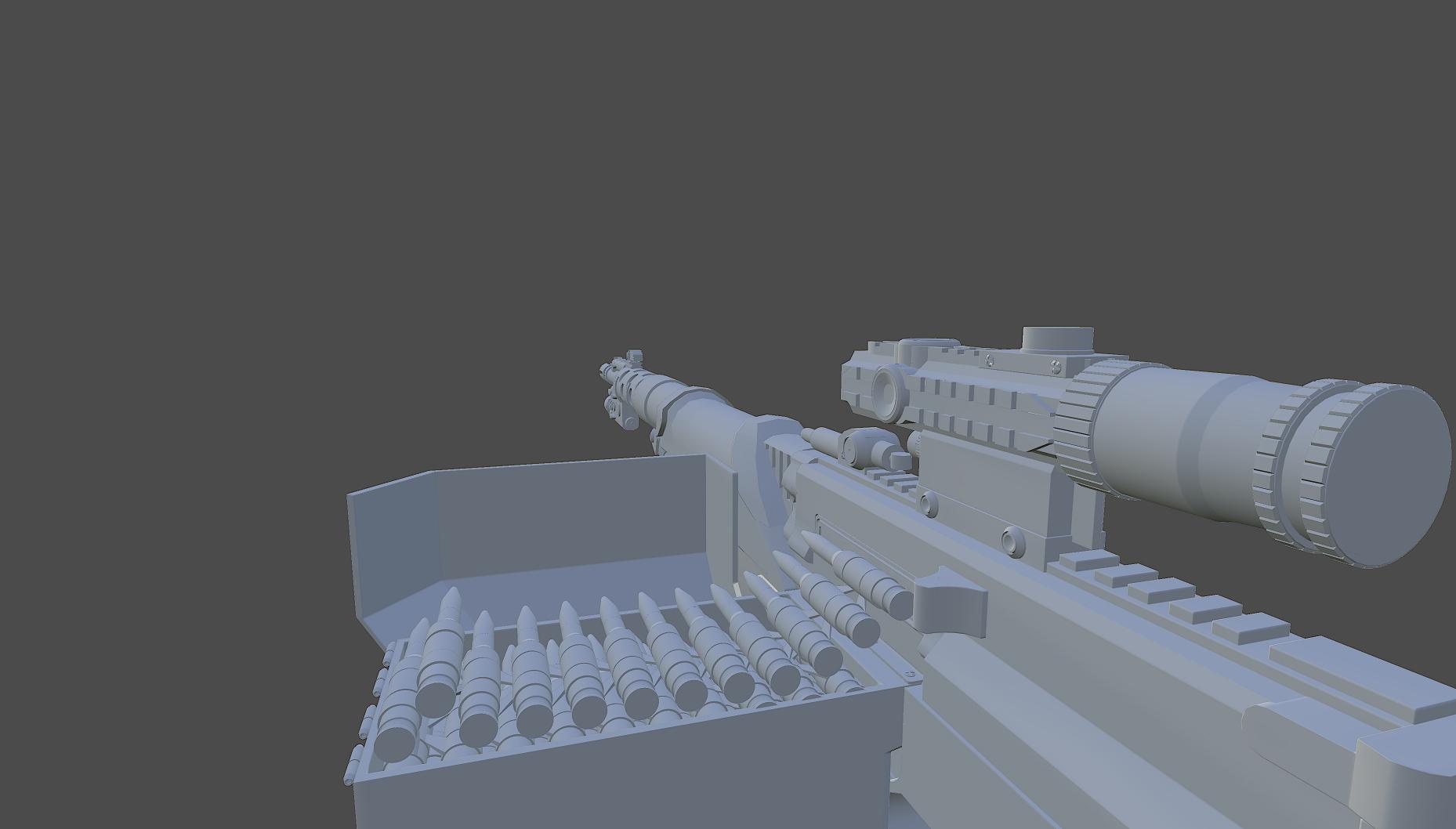 Tank Walker WIP - Gun